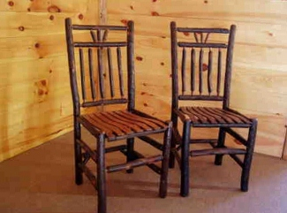 Incroyable Handmade Rustic Hickory Chairs