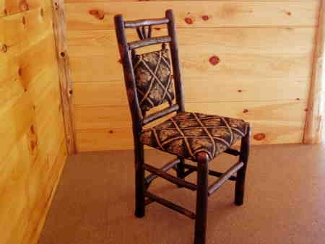 Handmade Rustic Hickory Chairs