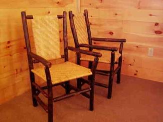 chairs stools owls head rustics