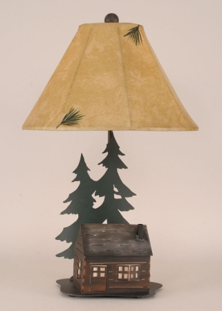 Folk Art Lamp Shades From A 39 Homestead Pe Home Decorating