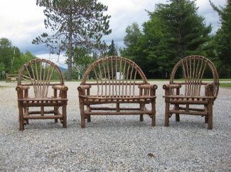 outdoor furniture owls head rustics rh ohmrf com Twig Factory Rustic Twig Chairs