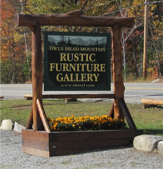 We Design And Build Authentic Adirondack Rustic Furniture.