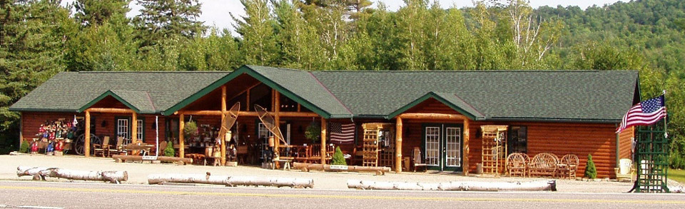 Adirondack Rustic Furniture Gallery store front