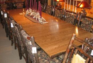 dining tables & end tables | owls head rustics