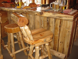 Dining tables end tables owls head rustics cedar pool table poker table and bar watchthetrailerfo